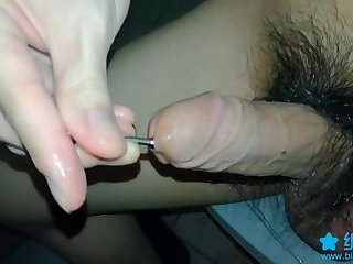 Amateur,Solo,Fetish,cock,sounding,gay Chinese urethral...