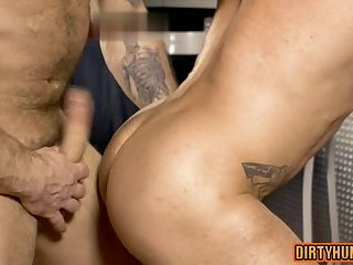 Anal,Hunks,Rimming,Tattoo,gay,muscle Muscle gay oral...