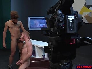 Anal,Big Cock,Hunks,Interracial,Rimming,Tattoo,Blowjob,studs,muscle,gay,HD,Bennett Anthony Horny studs Caleb...