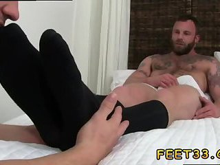 feet,fetish,bear,foot fetish,brunette,hairy,fetish sex,gay Adam didn't...