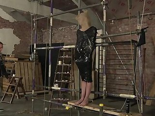 Bondage,Domination,Fetish,Handjob,twink,bdsm,submissive,maledom,BoyKinky, tied up,torment,blind folded,gay Bound and blind...