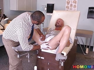 Big Cock (Gay);Blowjob (Gay);Interracial (Gay);Muscle (Gay);HD Videos;Anal (Gay) Black doctor...