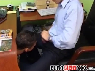 Office anal sex...