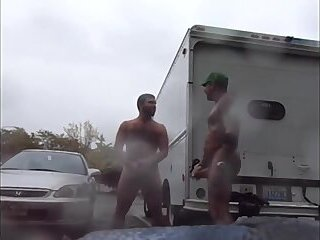 Amateur,Masturbation,outdoor,man,gay in public,gay parking,gay parking lot,gay guys in,gay Guys Very Public...