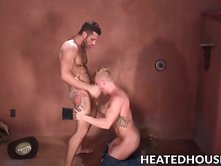 Anal,Cumshot,Rimming,Blowjob,gay,outdoor,hardcore,big dick,Johnny V,HeatedHouse,Letterio Amadeo Kinky little...