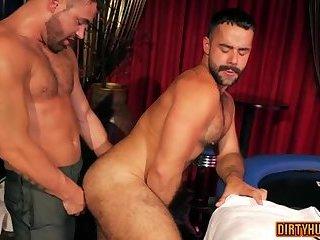 Muscle gay flip...