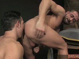 Anal,Hunks,Rimming,gay,muscle Muscle gay anal...