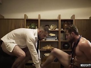 Anal,Cumshot,Big Cock,Domination,Hunks,Office,gay Tattoo gay...