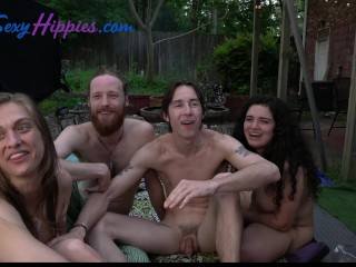 masturbate;group;big;cock;foursome;bisexual;bisexual;foursome;bisexual;orgy;mmff;ffmm;foursome;guys;sucking;cock;sucking;dick;gay;lesbian;outdoor;outside;squirt,Orgy;Babe;Big Dick;Blowjob;Cumshot;Masturbation;Party;Bisexual Male;Pussy Licking;Verifie Backyard Hippies...