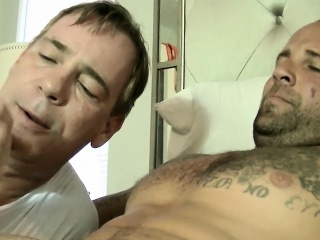 Blowjob (Gay),Daddies (Gay),Gays (Gay),HD Gays (Gay),Handjob (Gay) Tattooed Duncan...