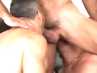 Cumshot,Big Cock,Pissing,Bareback,gay 3way fuck