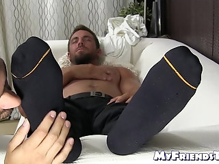 Masturbation,Feet,Massage,hunk,foot fetish,socks,Muscular, toes, feet licking, soles,foot licking,MyFriendsToes,Bare Feet,feet worshiping,gay Young gay freak...
