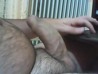 Amateur,Masturbation,Solo,Big Cock,uncut,hairy,chubby,gay Thick uncut bear...