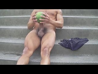 Amateur,Masturbation,Solo,Outdoors,hung,gay Blackey's...