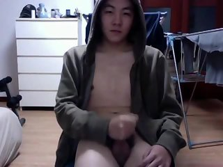 Amateur,Solo,Asian,Twinks,gay China white skin boy