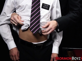Oiled up mormon...