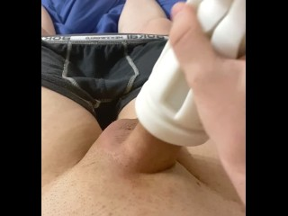 jerking;jerking-off;solo;solo-masturbation;uncut;fleshlight;fleshlight-fuck,Euro;Twink;Solo Male;Gay;Amateur;Handjob;Uncut;Feet Fleshlight jerking