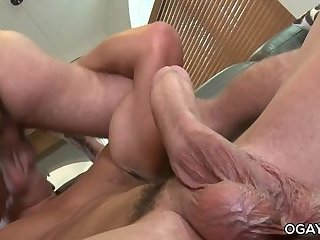 Anal,Rimming,anal sex,big dick,hairy,athletic,gay Exboyfriends make...