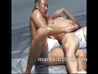 gay Wrestling with sex