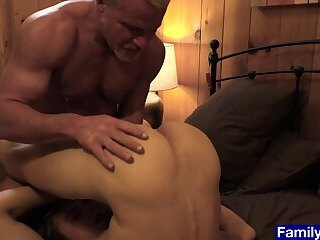 Anal,Bears,Hunks,Mature,Twinks,Blowjob,Bareback,muscle,daddy, old vs young,gay Stepson cant...