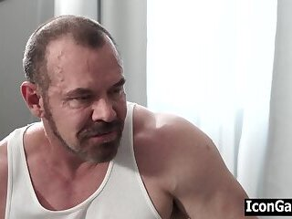 Anal,Masturbation,Tattoo,muscle,jocks,daddy, old vs young,step dad,dad and son,step son,son and daddy,gay Step dad...