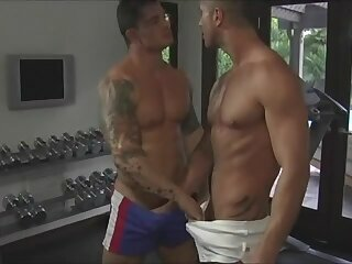 Anal,Cumshot,Big Cock,Body Builders,Hunks,Rimming,Blowjob,muscles,muscled,gay weight spotting...