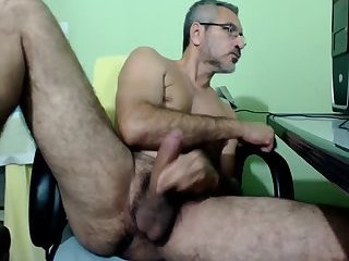 Amateur,Masturbation,Solo,Mature,hairy,gay Hot mature man meat
