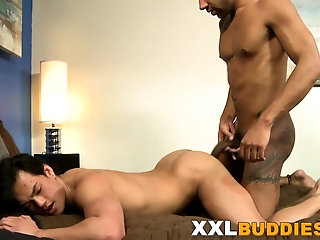 Asian (Gay),Big Cocks (Gay),Blowjob (Gay),Facial (Gay),Gays (Gay),HD Gays (Gay) Asian hunk banged...