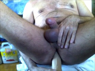 toys;cum;my8kitso;brent-everett;dildo;daddy;splooge;daddie,Daddy;Fetish;Solo Male;Gay;Mature Having a hot...
