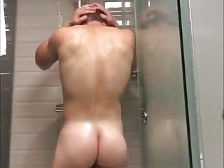 Men (Gay);Amateur (Gay);Hunks (Gay);Take a Shower;Shower Time;Hot Shower;Hot Time;Man Shower time - hot...