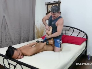 cjxxx;finger-fuck;daddy;twink;fetish;tickling;asian;fucking;bareback;footjob;bondage;rimming,Gay;Amateur;Cumshot Daddy Barebacks...