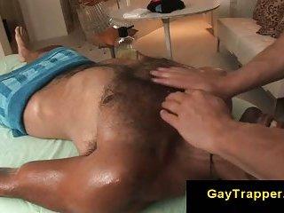 gay Hairy straight...