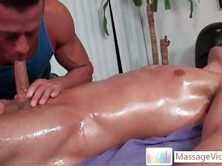 gay Dylan gets oiled...