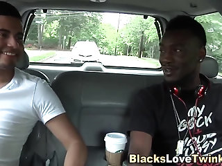 Anal,Amateur,Big Cock,Ebony,Interracial,gay Twink banged by...