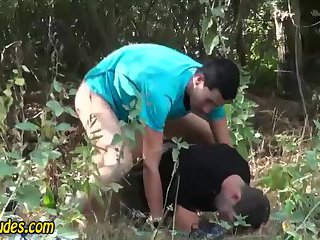 gay Amateur outdoor...
