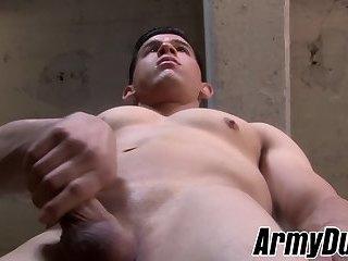 Masturbation,Solo,Big Cock,Uniform,gay sex,military, tattoos,army,hardcore gay,ArmyDuty,gay Good looking army...