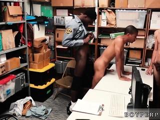 Nude male police...