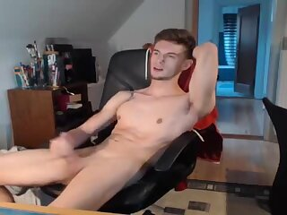 Cumshot,Amateur,Masturbation,Big Cock,webcam,Tattoo,gay Handsome webcam guy
