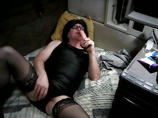 Crossdresser (Gay);Handjob (Gay);Masturbation (Gay);Sex Toy (Gay);Small Cock (Gay);Anal (Gay);Skinny (Gay) Crossdressing...