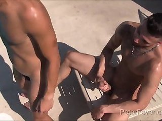 Anal,Hunks,Outdoors,twink,hunk,riding,latino,doggy,gay,FX Rios Latino Pimp fucks...