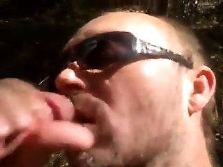 Blowjob (Gay),Gays (Gay),Men (Gay),Outdoor (Gay) Buddy blowing me...