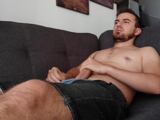 solo;amateur;homemade;gay;boy;male;young;guy;european;white;dick;cock;penis;on-couch;jerks-off;masturbates,Fetish;Solo Male;Gay;Amateur;Uncut Horny young gay...
