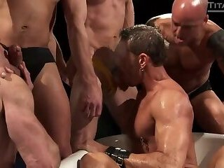 Anal,Pissing,Rimming,group sex,bdsm,gay Piss Party