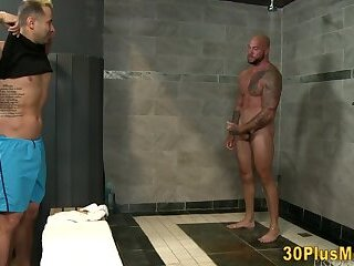 Anal,Amateur,Homemade,Blowjob,gay,HD Showering buff...
