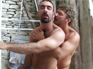 Men (Gay);Hunks (Gay);Outdoor (Gay);Between;Intense;Man Intense fuck...