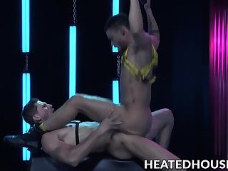 Anal,Rimming,Tattoo,Blowjob,gay,gay sex,hunk,muscle, smooth,hardcore gay,HeatedHouse,Roman Todd Muscular deviant...